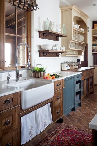 Mountain Farmhouse Kitchen
