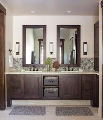Mountain Contemporary Master Bathroom