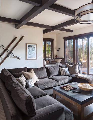 Mountain Contemporary Rec Room