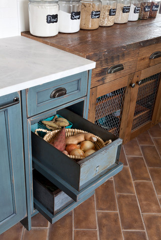 Mountain Farmhouse Reclaimed Drawers