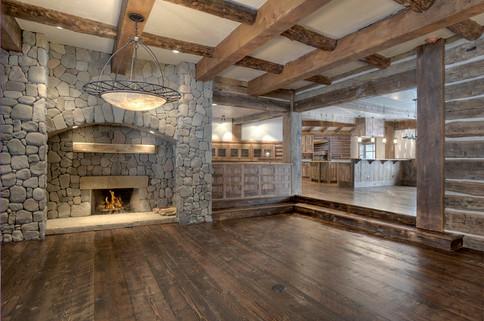 Mountain Scrape Main Fireplace