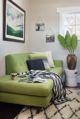Corner Sitting in Green - Louisville, CO
