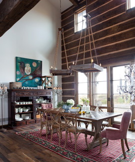 Mountain Farmhouse Dining Room