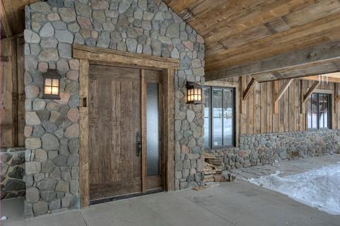Mountain Scrape Exterior Front Entry