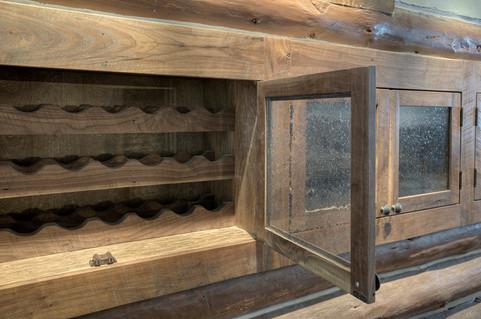 Mountain Scrape Custom Wine Storage