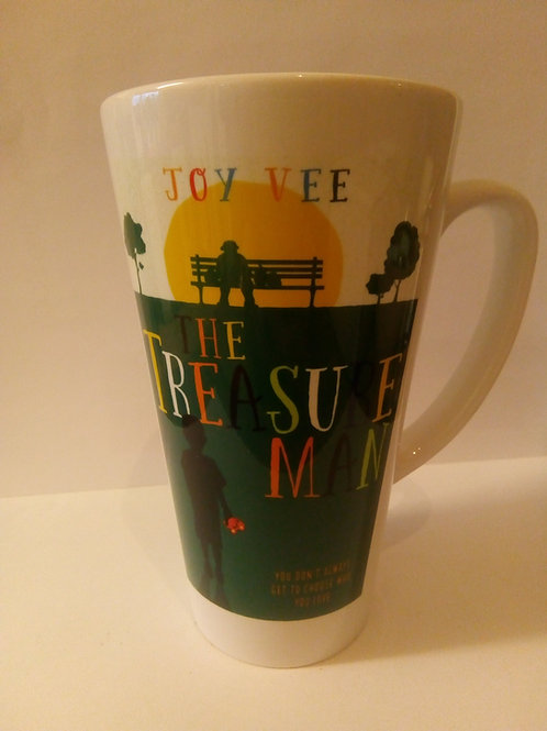 Large Latte Mug- Treasure Man