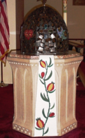 Easter-Baptismal Font