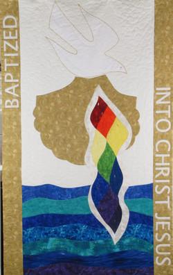 Baptismal Banner-Zion