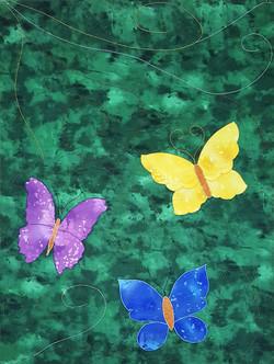 Butterflies-parament
