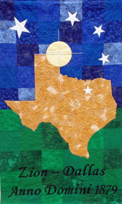 Texas Processional Banner-Zion