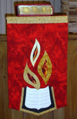 Pentecost-Lectern