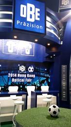 OBE at Hong Kong Optical Fair 2014