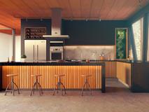 Cocina casa Las Guindas