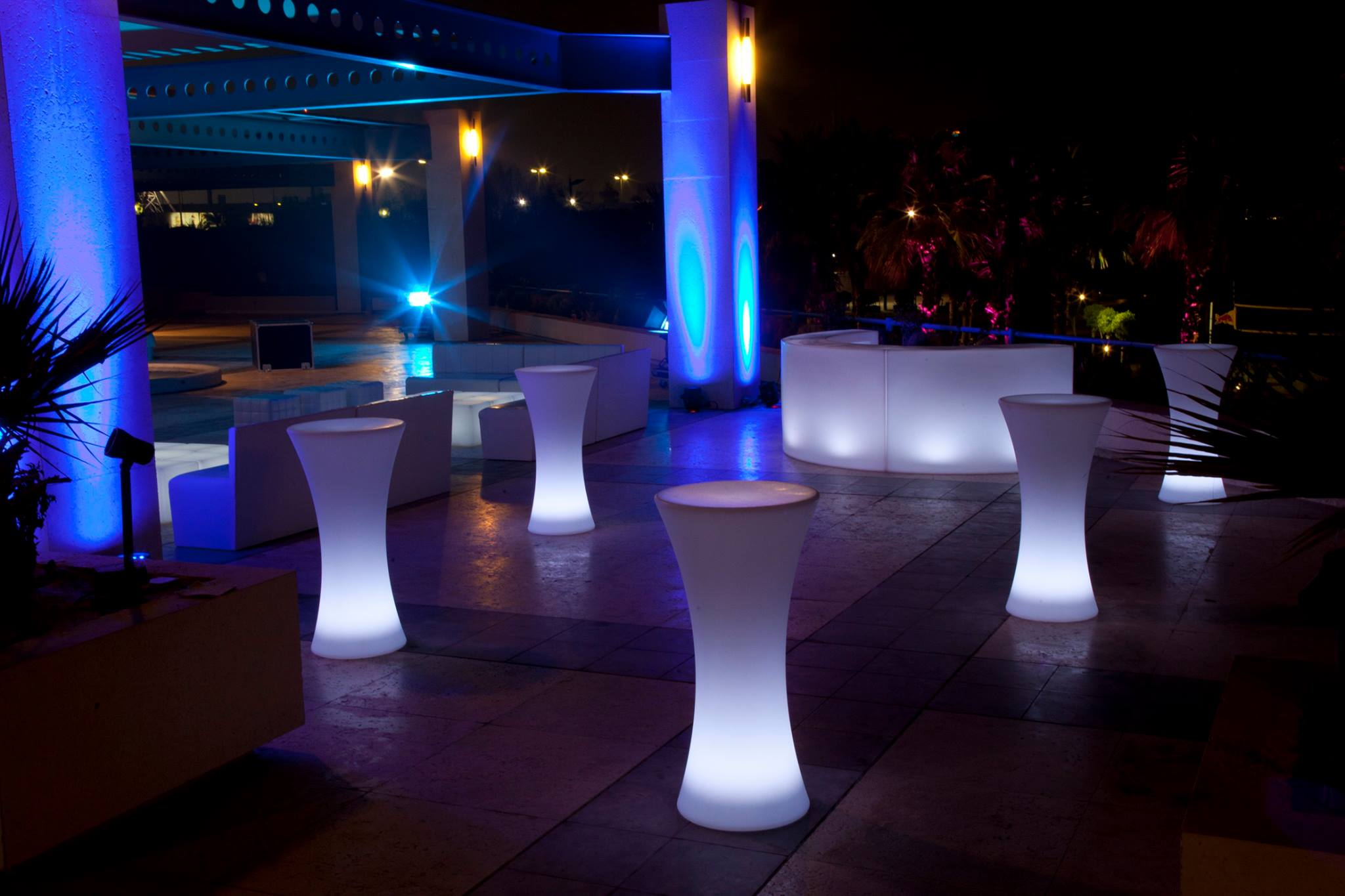 Outdoor LED Furnitures