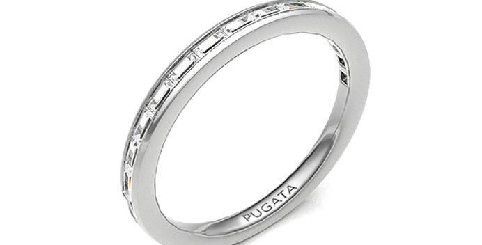 Channel Set Baguette Eternity Ring