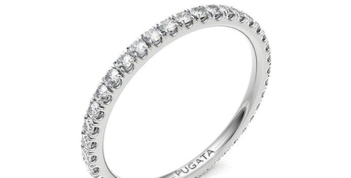Micro Set Round Eternity Ring