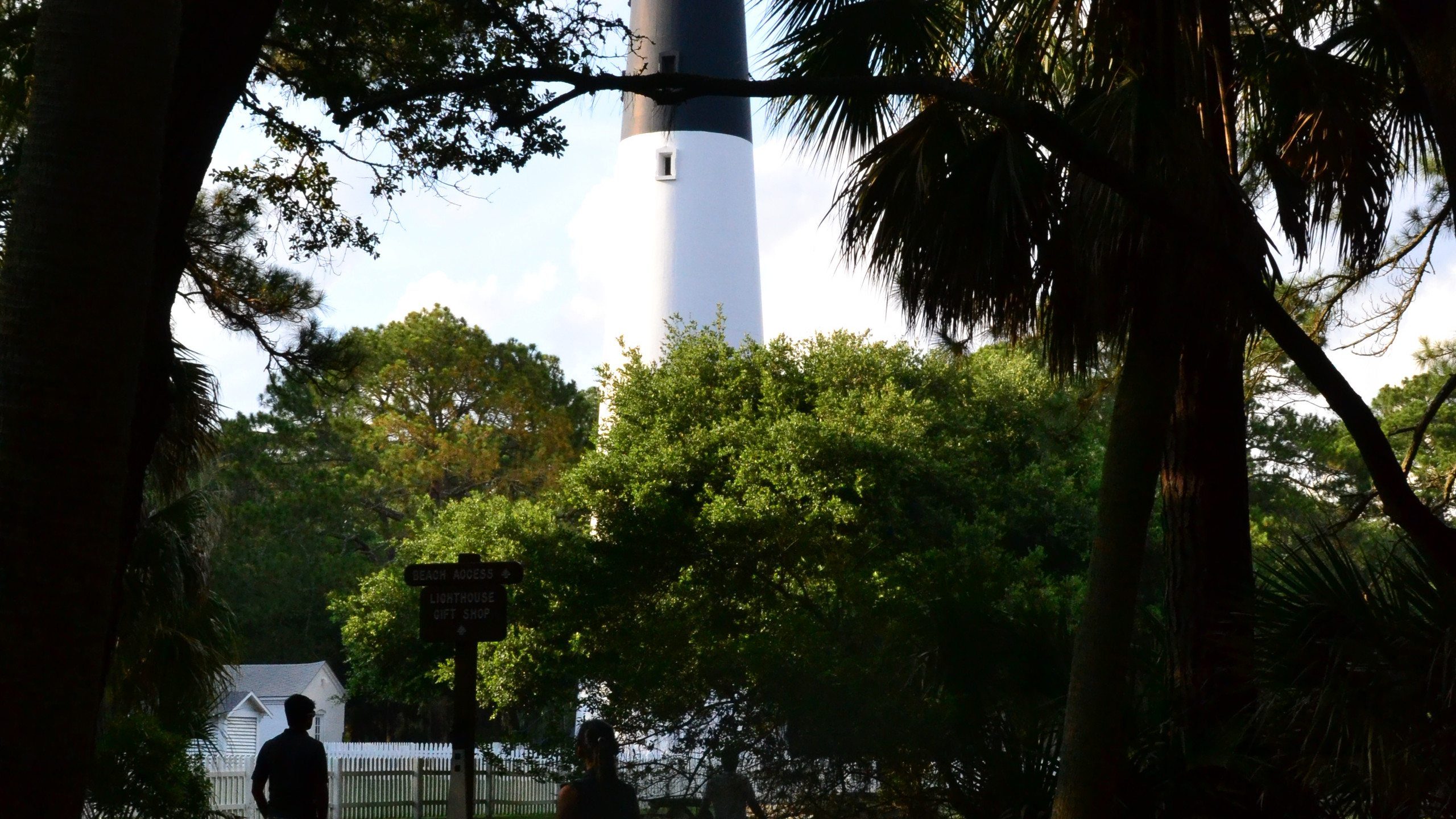 Light House at Hunting Island View 2