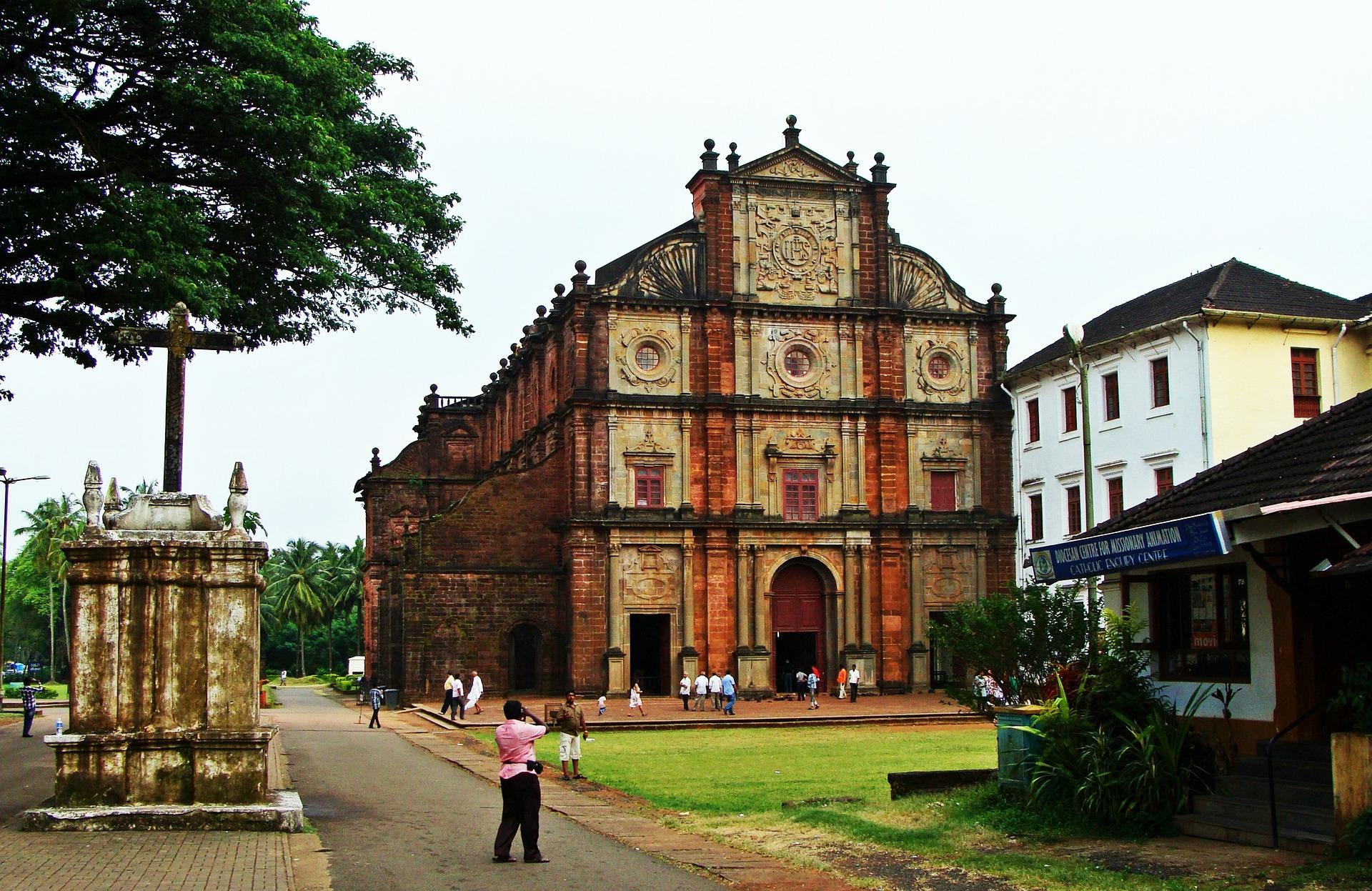 Basilica of Bom Jesus in Old Goa