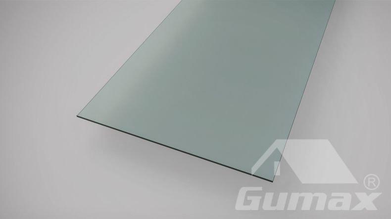 Glas Dachplatte gehärtet
