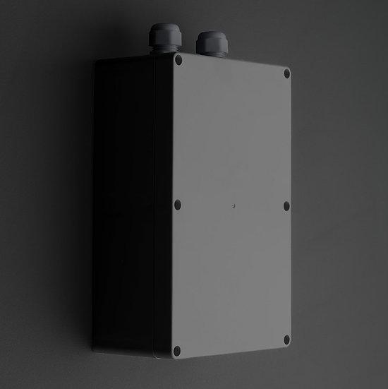 Wandbox   IP65   Schwarz