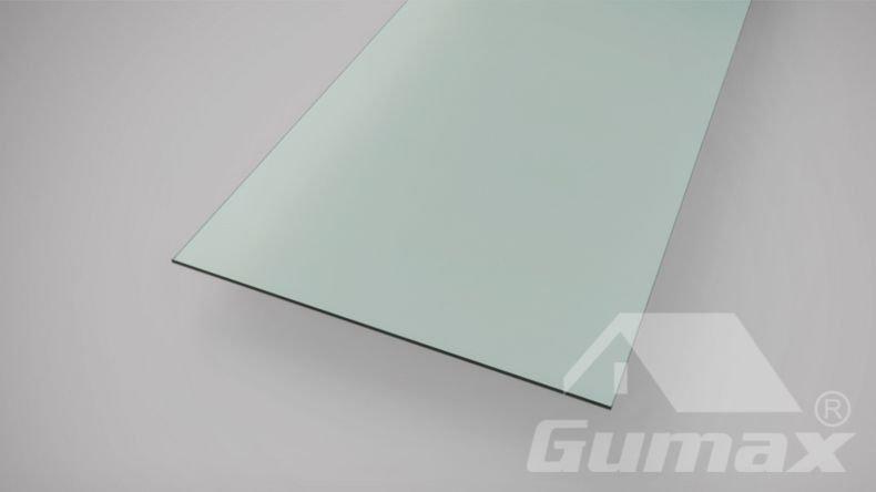 Milchglas Dachplatte gehärtet