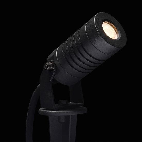 Cree LED Erdspießstrahler Porto | Warm Weiß | 3 Watt | Kippbar