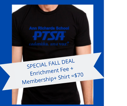 SPECIAL FALL DEAL ENRICHMENT FEE + MEMBE