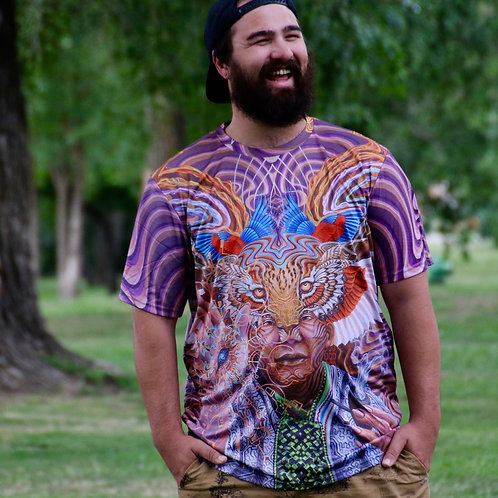 'Mundo Ikayari' shirt by Luis Tamani