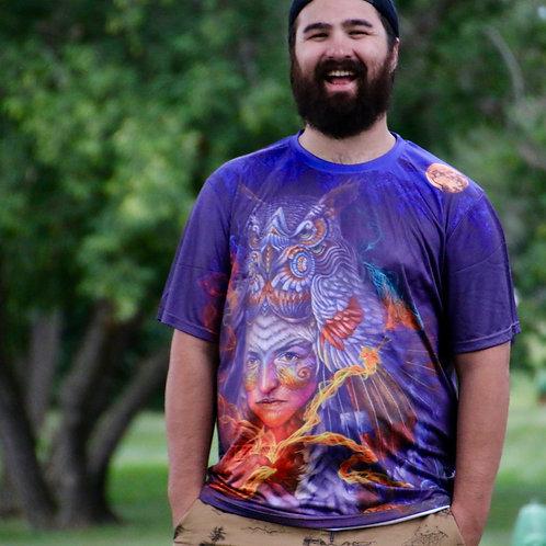 'Abundancia Del Corazon' shirt by Luis Tamani