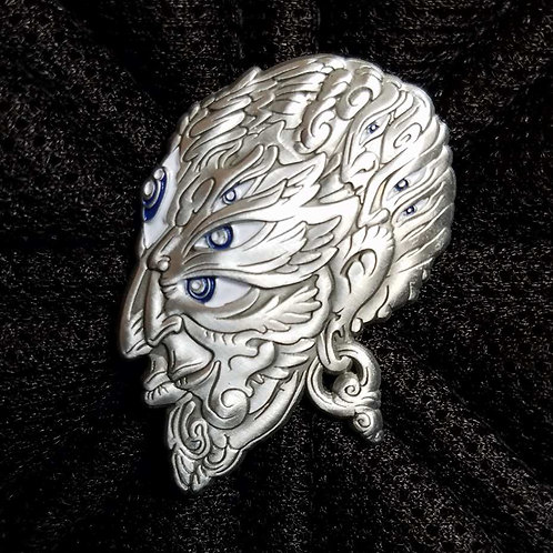 Luke Brown antique silver