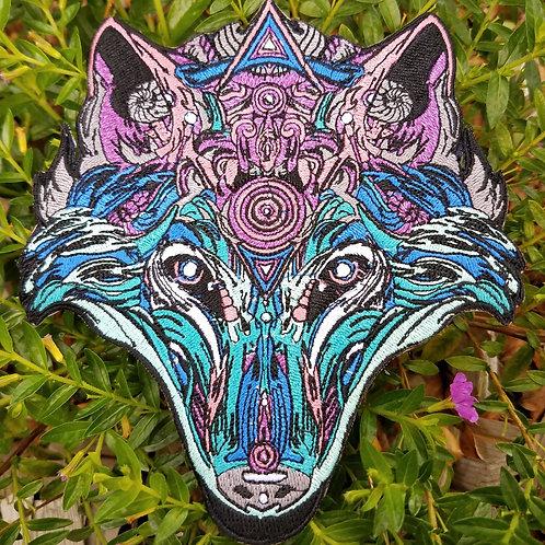 "'Chrome Wolf""patch by Mugwort"