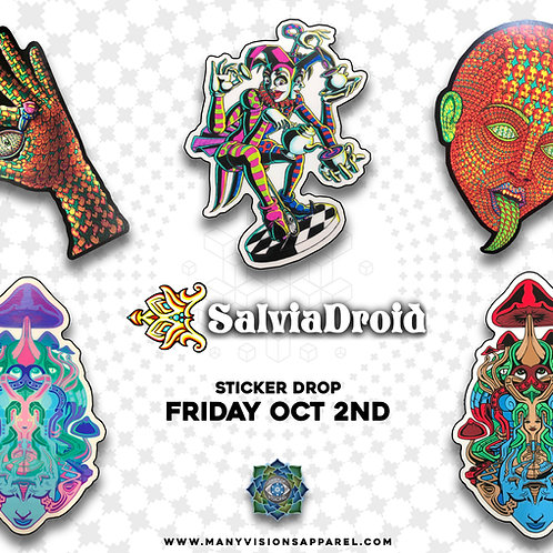 Salvia Droid Sticker Pack