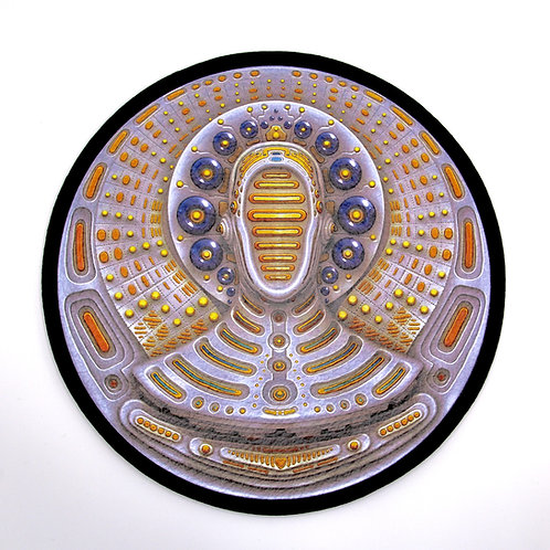 """Light Transmission' by Ben Ridgway Dab mat"