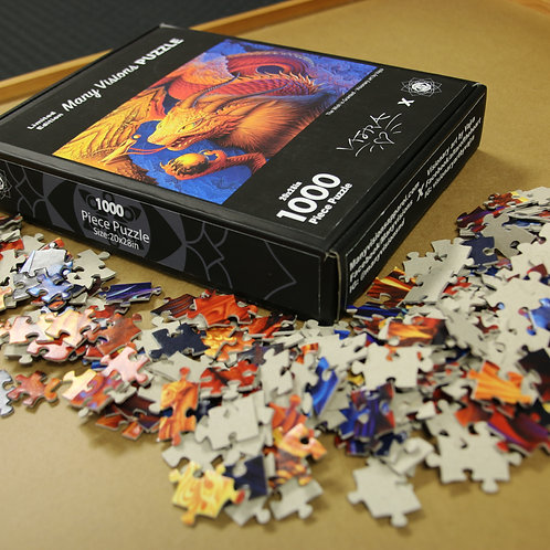 Vajra puzzle 'The Wish is Granted'