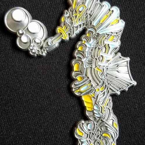 Raf Mata Seahorse Antique Silverle75