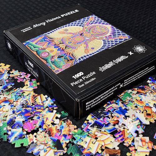 Chris Dyer Puzzle 'Neo Human Evolution'