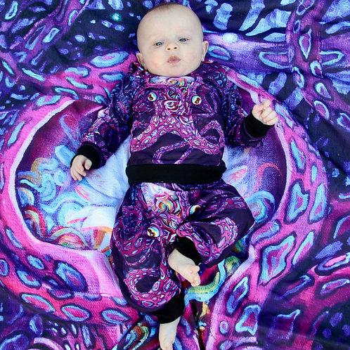 Mini Visions hoodie and jogger set 'Lotus'