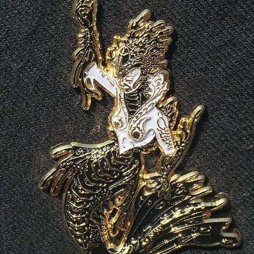 Luke Brown Mermaid pin