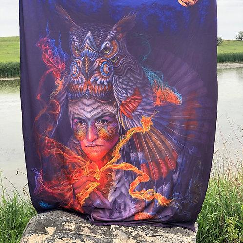 'Abundancia Del Corazon' blanket by Luis Tamani