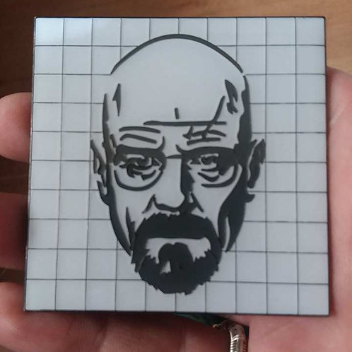 Walter White on White