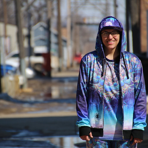 """""""Gateway to the Northstar"""" hoodie by Jonathan Solter"""