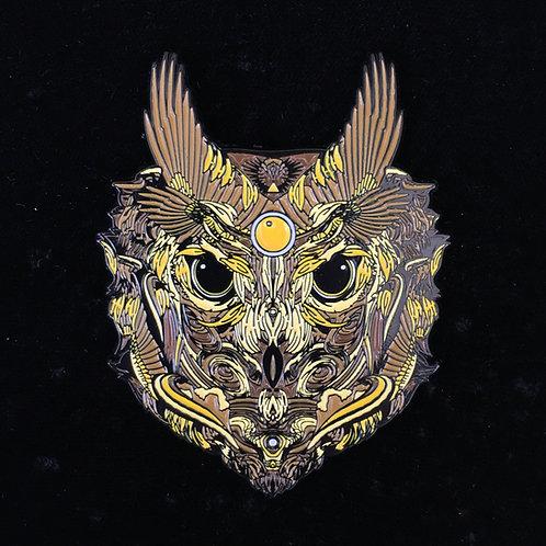 """Copper Owl"" by Mugwort Designs le111"