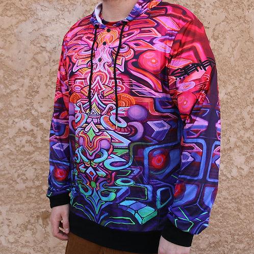 """""""Coda"""" Pull over hoodie, art by Stephen Kruse"""