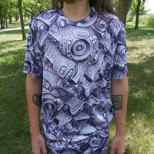 """Cascade of Abstraction"" Shirt by Ben Ridgway"