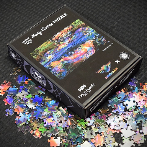 """Koi Fish""puzzle by JumbieArt"