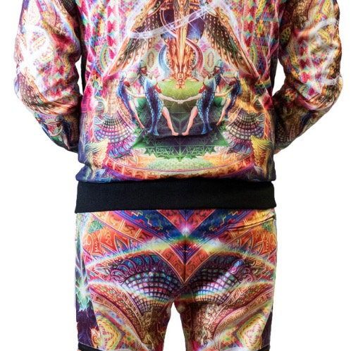 """Salvia Droid.""""Death by Astonishment"""" jogger/hoodie set"""
