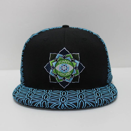 V1.2 6eyed 'series'  HAT PIN COMBO Many Visions hat