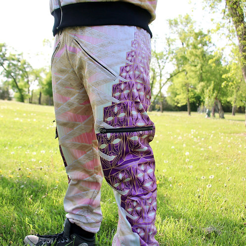 'Speaking Circuitry' by Introspective Projections joggers