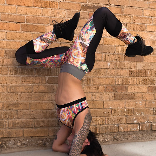 """Salvia Droid """"Death by Astonishment"""" leggings and tops"""