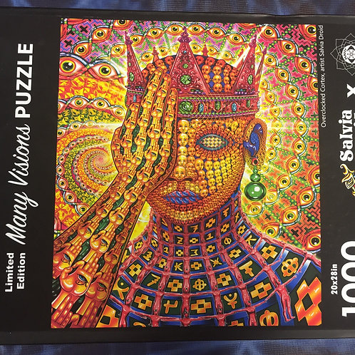 'Overclocked Cortex' Puzzle by Salvia Droid